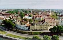 Исторический центр Выборга (вид с башни замка)